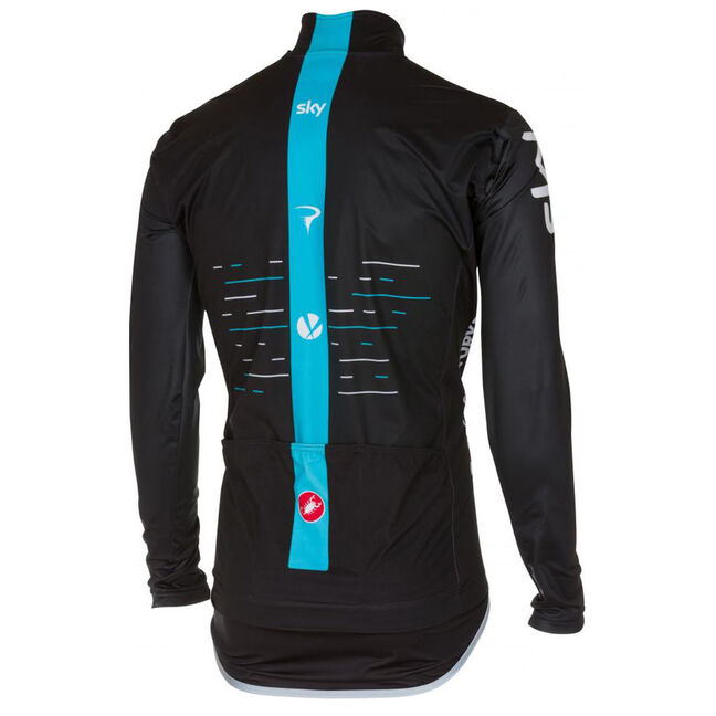 Castelli Pro Fit Rain Team Sky Jacket Lordgun Online Bike